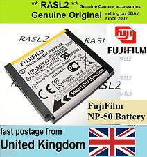 and Genuine Fujifilm Np-50 Lithium Ion Battery. Fuji NP50
