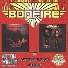 Bonfire - Don't Touch the Light/Fire Works  (CD, Mar-2006 Collectables) NEW