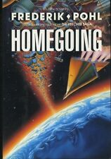 HOMEGOING by Frederik Pohl (1989, Hardcover, First Printing, DJ) Science Fiction