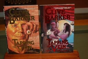 """Complete Run of Eclipse Comics """"Clive Barker: Tapping the Vein """" Issues 1-4"""