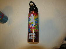 FIFA World Cup Brazil 2014 stainless steel bottle bronze Cup Beverage 20 fl oz