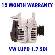 VW LUPO 1.7 SDI HATCHBACK 1998 1999 2000 2001 2002 - 2005 ALTERNATOR