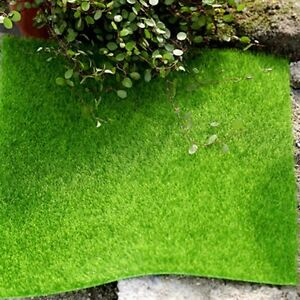 1pc Miniature Artifical Lawn Grass 30X30cm Fairy Garden Terrarium Bonsai Crafts