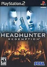 Headhunter: Redemption (Sony PlayStation 2, 2004) NEW Factory Sealed Sega