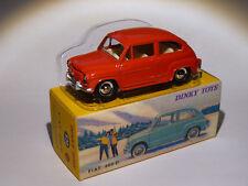FIAT 600 D rojo ref 520 au 1/43 de dinky toys atlas / DeAgostini