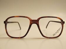 Buxton Rare Vintage Tortoise Eyeglasses with leather temple Made in Canada