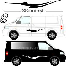 Graphic Decals Self Adhesive Vinyl Stickers Any Vehicle VW Campers Motorhome D8