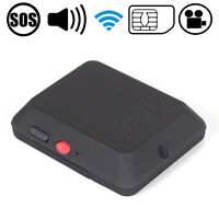 GPRS GSM SIM Card HiddenCamera Recorder DV Ear Bug Monitor X009 Tracker SOS