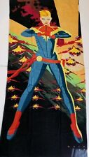 Captain Marvel Beach Bath Pool Towel NEW Loot Crate Avengers