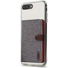 Ringke Flip Card Holder ID Adhesive 3m Gray Premium Stick on Slim Fashion Mult
