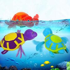 Wind-up Turtle Swimming Pool Bath Time Animal Clockwork Floating Kids Baby Toy