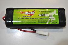 4200mAh 7.2v NI-MH Pacco Batteria HIMOTO Ricaricabile Tamiya/PACK BATTERY HIMOTO