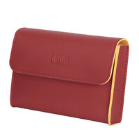 Chargers Case Organizer Carry Bag Pouch Sleeve for Macbook Red