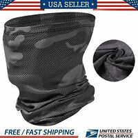 Neck Gaiter Bandana Face Mask Cover Tube Scarf Balaclava Headband Sun UV US