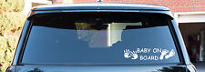 Baby On Board Baby Child Window Bumper Car Sign Decal Sticker