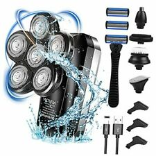 Bald Head Shavers for Men, IPX7 Waterproof Mens Head Shaver with LCD Display,