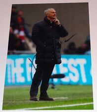 JOSE MOURINHO MANCHESTER UNITED PERSONALLY HAND SIGNED AUTOGRAPH PHOTO