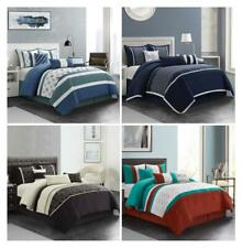 7-Piece Bedding Sets Comforter Set Bed in A Bag Warm & Soft Queen King Cal King