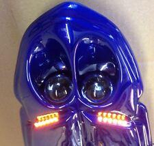 TELEFONICA BLUE ABS PLASTIC 00-03 SUZUKI GSXR 600 750 1000 UNDERTAIL - NEW