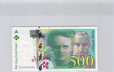 France 500 Francs Pierre et Marie Curie 1994 Q017036900 Pick 160a