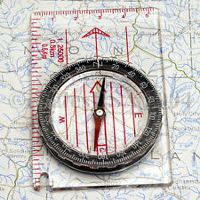 12 Training Compass Scouts Camp Hunt Fish Hike Boy Girl Camping Traveling Hiking