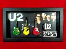 U2 Miniature Guitars Tribute in Shadow Box SBM1 U201