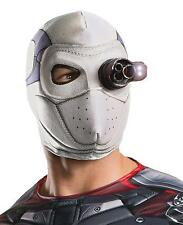 Adult DC Comics Suicide Squad Deadshot Light up Mask Costume Accessory Ru32940