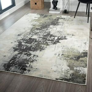 Interior Floor Décor Soft Rugs Large Floor Area Rugs Contemporary Green Carpets