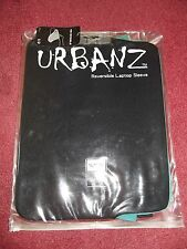 laptop reversible sleeve 14.1 in to 16in black or turquoise by Urbanz