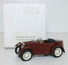 RAE Models 143 Scale - 1930  MG M Type Midget - Built Kit - Brown