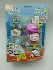 "Rare 2003 Wanda 3"" Jakks Noggin Knockers Action Figure Fairly Odd Parents New"