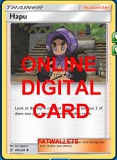 4X Hapu 200/236 Unified Minds Pokemon TCG Online Digital Card