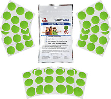 New listing RiptGear Mosquito Patch Stickers for Kids (78 Pack) - DEET Free Natural Plant Ba