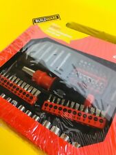 AMTECH 101 Pc SCREWDRIVER AND BIT SET ASSORTMENT OF SCREWDRIVER BITS L1350