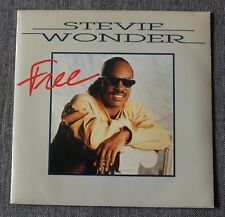 Stevie Wonder, free / happy birthday, SP - 45 tours