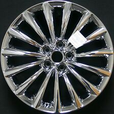 "Kia K900 2015 Light Chrome 19"" Rear Factory OEM Wheel Rim 74712 97236 U95"
