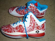 Men's Adidas Louisville Basketball Puerto Rico #L1C4 Team Issued Shoes - New 18