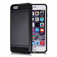 Plain Metal Fitted Cases for iPhone 6 Plus