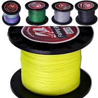 Fishing Line 500M Super Strong 12 72LB Multifilament PE Material Braided Lines