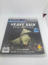 Heavy Rain Move Edition PS3 Playstation 3 Region 3 Chinese English Version Sony