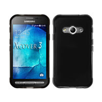 Soft Black Gel TPU Case Cover For Samsung Galaxy Xcover 3, G388F