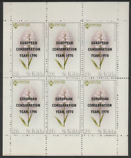 GB Locals St Kilda (1241) 1970 Conservation Year opt on FLOWERS with 1790 ERROR