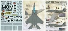 Print Scale 32-021 Decal for Mcdonnell Douglas F-15 Eagle Aircraft 1/32 scale