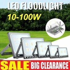 New listing New Led Flood Light 10W -100W Outdoor Garden Yard Spotlight Warm/Cool White Lamp