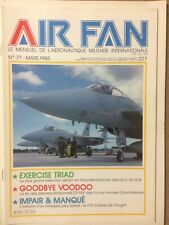 AIR FAN 117 : F7U CUTLASS CF-101 VOODOO X-29 USN GRUMMAN RCAF BA 110 ARMEE AIR