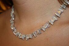 Kate Spade Bon Le Soir Crystal Bow Collar Necklace BRIDAL PERFECT!