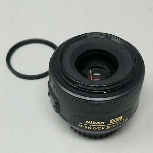 Nikon NIKKOR AF-S 35mm DX f/1.8 Prime Lens - Plus Filter