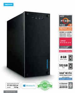 Medion Desktop Computer. Ryzen 3 3200g, 8gb DDR3, 512gb SSD. Good 1st gaming P.c