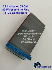 Long 22 Inches or 55 CM IDE High Quality PC/Original XBOX 40 Pin 80 Wire Cable
