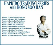 HAPKIDO INSTRUCTIONAL TRAINING SERIES (11) DVD SET belt techniques interview